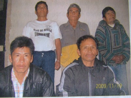 Men accused of attempted homicide in San Gregorio. 2 are imprisoned, and 4 others in hiding while their cases is presented by Esdras Alonso.