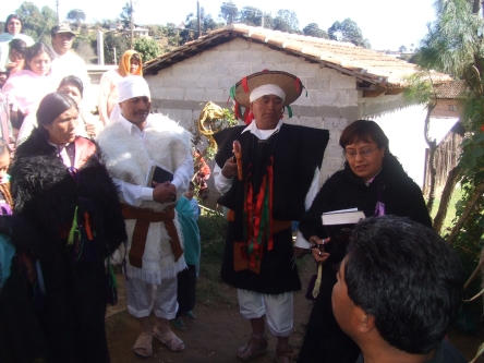 Dedication of Christian Temple in Chamula, Land of the Blood of the Martyrs